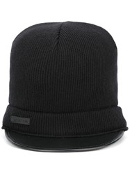 Dsquared2 D2 Knit Hat Black