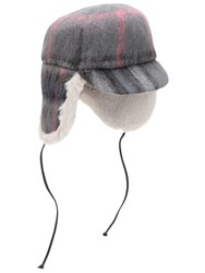 Eugenia Kim Sammy Wool And Mohair Trapper Hat Grey