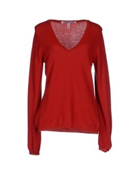 Jeckerson Sweaters Red