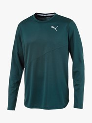Puma Ignite Long Sleeve Training Top Ponderosa Pine