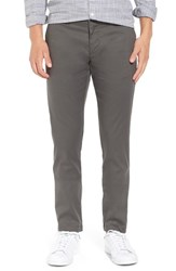 Original Penguin Men's 'Venture' Slim Fit Chinos Dark Shadow