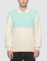 Lacoste Golf Le Fleur X Mid Weight French Terry Polo Blue