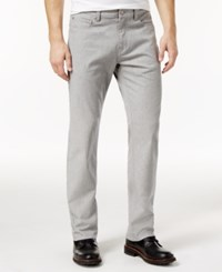 Alfani Men's Straight Fit Gray Wash Jeans Only At Macy's Dusty Grey