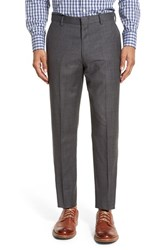 J.Crew Men's Flat Front Solid Wool Trousers