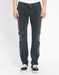Closed Faded Black Elastane Slim Fit Jeans