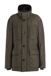 Jil Sander Down Jacket Green