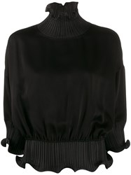 Givenchy Frilled Roll Neck Blouse 60