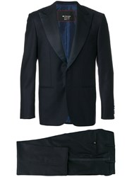Kiton Two Piece Dinner Suit Cupro Wool Blue