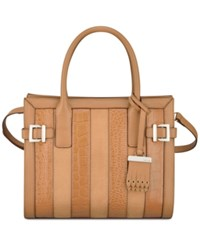 Nine West Clean Living Small Tote Dark Camel