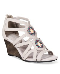 Easy Street Shoes Unity Sandals Women's Grey