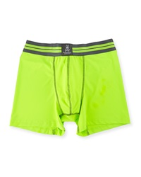 Psycho Bunny Performance Boxer Briefs Acid Green