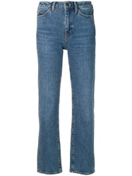 Mih Jeans Daily Crop Blue