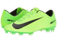 Nike Mercurial Veloce Iii Fg Electric Green Black Flash Lime White Men's Soccer Shoes