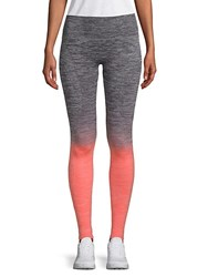 Electric Yoga Faded Stretch Leggings Grey