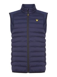 Lyle And Scott Men's Moss Padded Gilet Navy