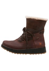 Art Heathrow Laceup Boots Brown