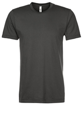 American Apparel Basic Tshirt Asphalt Dark Gray