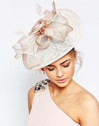 Coast Floral Blush Fascinator Pink
