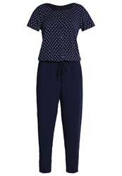Tom Tailor Jumpsuit Real Navy Blue Dark Blue