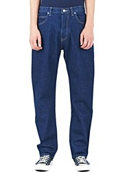 Sunspel Straight Leg Jeans Navy