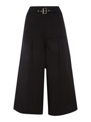 Endless Rose High Waisted Cullottes Black