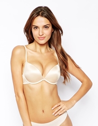 Ultimo Double Boost Padded Plunge Bra Nude