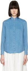 Acne Studios Blue Denim Beaumont Shirt
