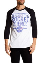 Fifth Sun Actually Rocket Science Tee White