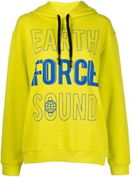 Mcq By Alexander Mcqueen Graphic Hoody Yellow