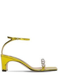 Sergio Rossi 60Mm Lvr Exclusive Leather Sandals Yellow
