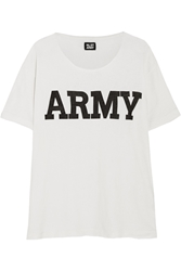 Nlst Army Cotton Blend T Shirt