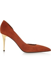 Tom Ford D'orsay Suede Pumps