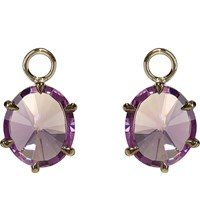 Annoushka 18Ct White Gold And Amethyst Earring Drops