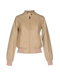 Duck Farm Coats And Jackets Jackets Women Beige