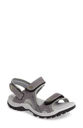 Ecco Women's 'Offroad' Lightweight Sandal Titanium Leather