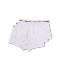 Calvin Klein Underwear Cotton Stretch Low Rise Trunk 3 Pack Nu2664 White Men's Underwear