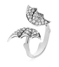Stephen Webster Diamond Butterfly White Gold Ring