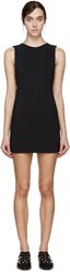 Anthony Vaccarello Black Open Back Dress