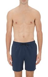 Theory Men's Cosmos Swim Trunks Blue