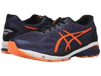 Asics Gt 1000 5 Indigo Blue Hot Orange Black Men's Running Shoes