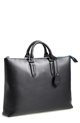 Ben Minkoff 'Devin' Leather Tote Bag Black