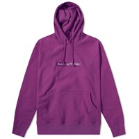 Raised By Wolves Box Logo Popover Hoody Purple