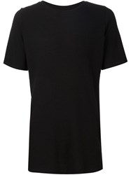 Judson Harmon Ribbed T Shirt Black