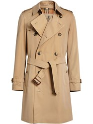 Burberry The Chelsea Heritage Trench Coat Nude And Neutrals