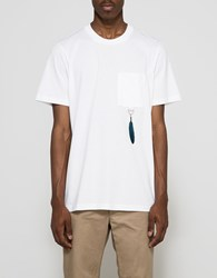 Oamc Feather T Shirt White