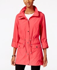 Styleandco. Style Co. Hooded Anorak Jacket Only At Macy's Strawberry Pop