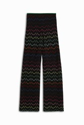 Missoni Lurex Zigzag Trousers Black
