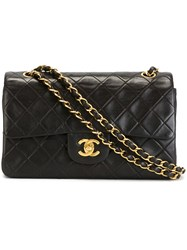 Chanel Vintage Quilted 2.55 Shoulder Bag Black