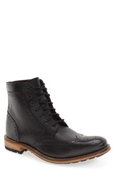 Ted Baker Men's London 'Sealls 3' Wingtip Boot Black
