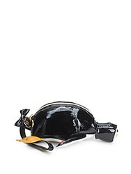 Betsey Johnson Convertible Top Zip Pouch Black